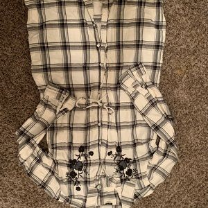 a.n.a Tops - Button up tunic